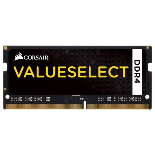 Оперативная память Corsair ValueSelect 4GB DDR4 SODIMM PC4-17000 [CMSO4GX4M1A2133C15] в  магазине Терабит Могилев