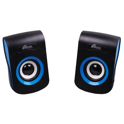 Колонки Ritmix SP-2060 Black/Blue в  магазине Терабит Могилев